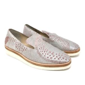 FREE PEOPLE Snake Eyes Loafer Womens size 39 US 9